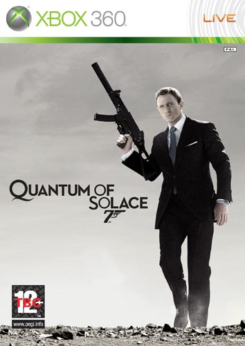 007 QUANTUM OF SOLACE XB360