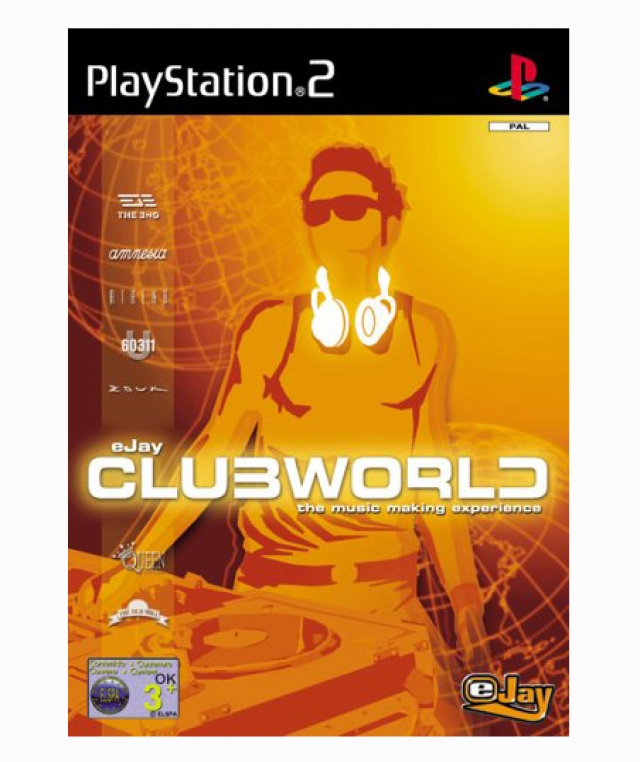 EJAY CLUBWORLD PS2