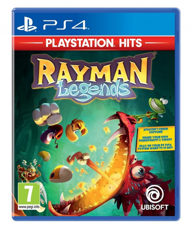 RAYMAN LEGENDS HITS PS4