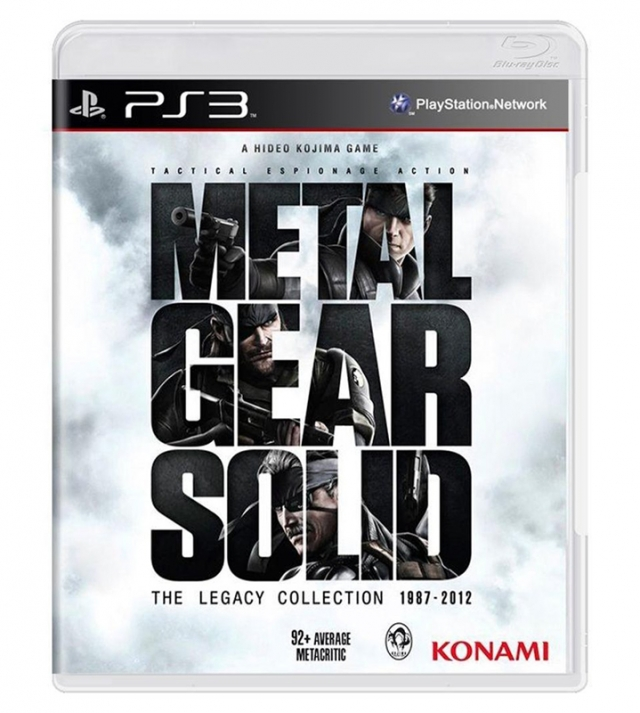 METAL GEAR SOLID The Legacy Collection 1987-2012 PS3