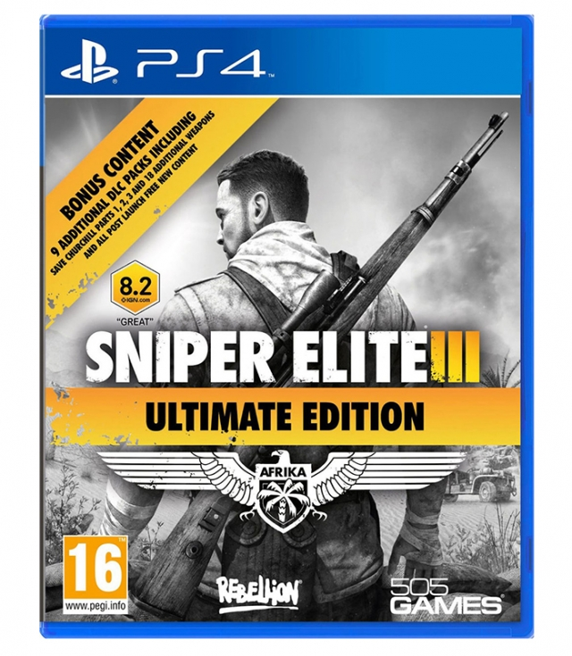 SNIPER ELITE 3 Ultimate Edition (EM PORTUGUÊS) PS4