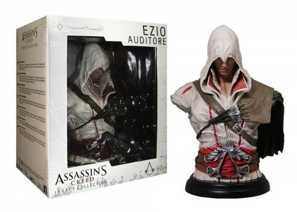 Busto ASSASSINS CREED Legacy Collection Ezio Auditore (19cm)