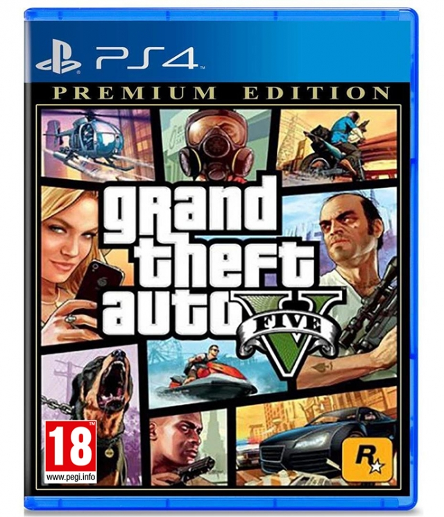 GRAND THEFT AUTO V Premium Edition (EM PORTUGUÊS) PS4