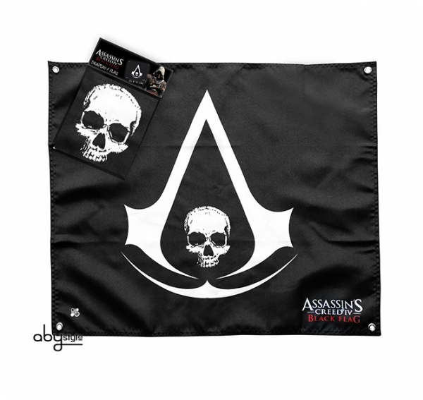 Bandeira ASSASSINS CREED Skull (50x60cm)