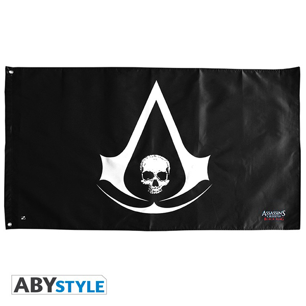 Bandeira ASSASSINS CREED Skull (70x120cm)
