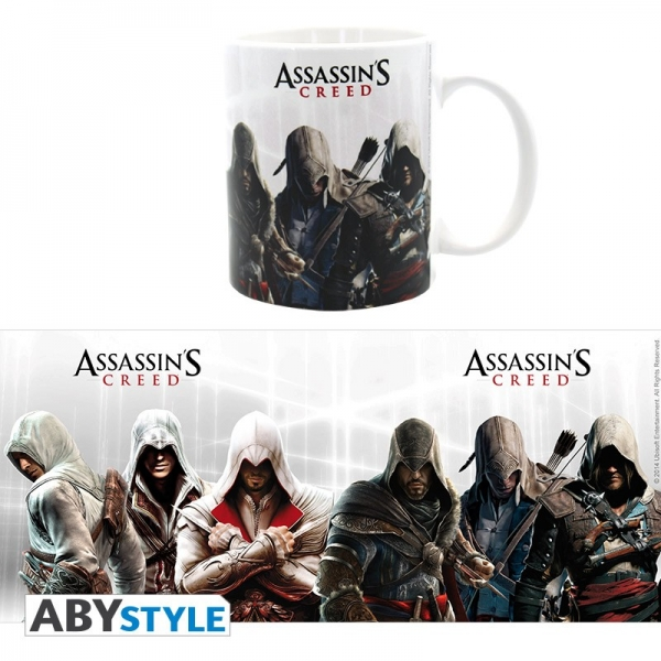 Caneca ASSASSINS CREED Heroes (320ml)