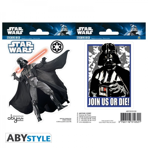 Autocolantes STAR WARS Darth Vader