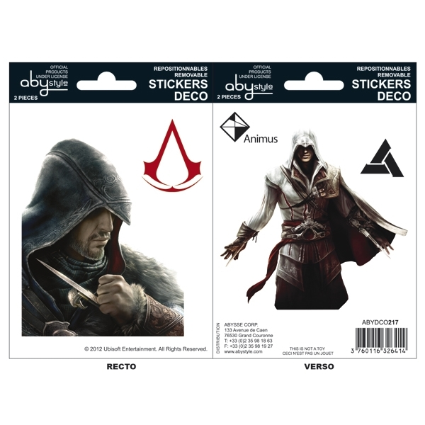 Autocolantes ASSASSINS CREED Ezio & Altair