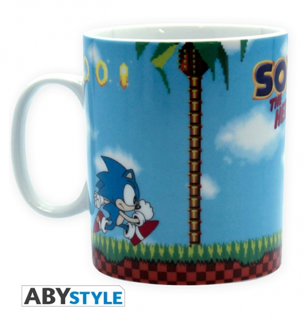 Caneca SEGA Sonic The Hedgehog Green Hills Level (460ml)