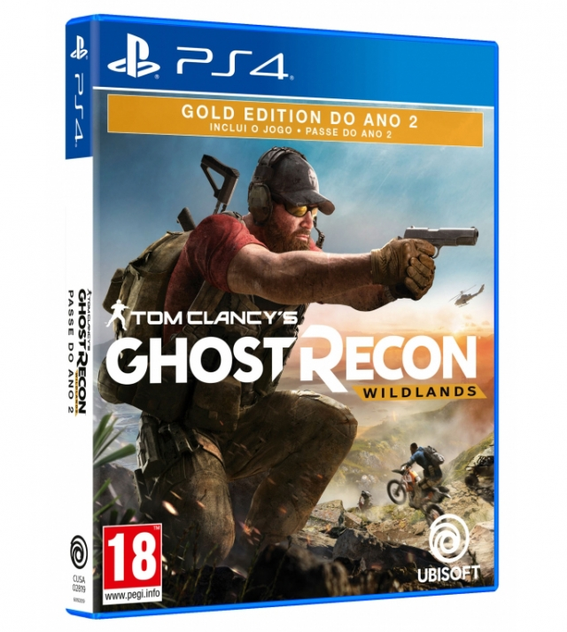 GHOST RECON WILDLANDS Gold Edition Year 2 PS4