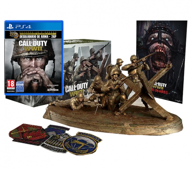 CALL OF DUTY WWII Valor Edition Day One PS4