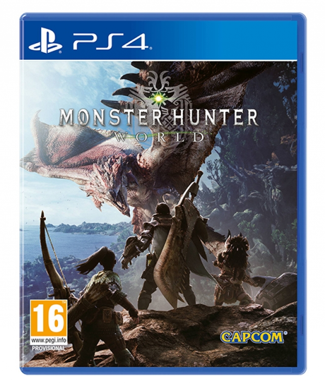 MONSTER HUNTER WORLD Lenticular Edition PS4