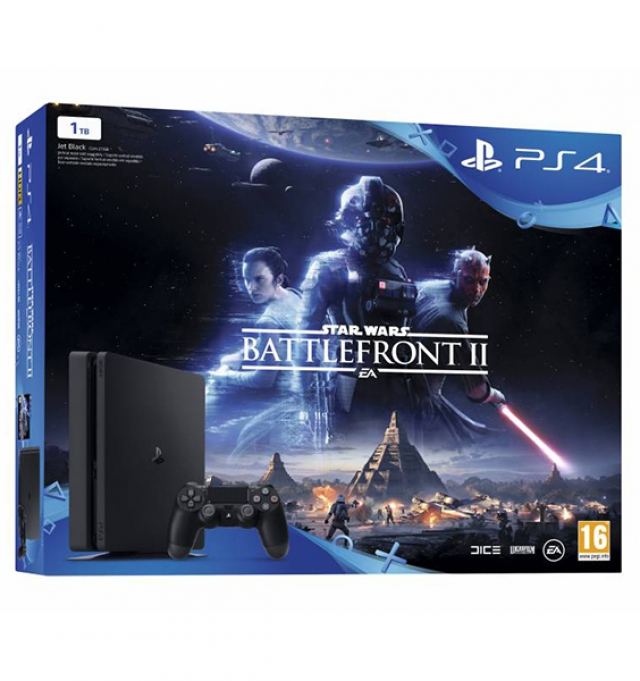 CONSOLA PLAYSTATION 4 1TB Bundle STAR WARS BATTLEFRONT II