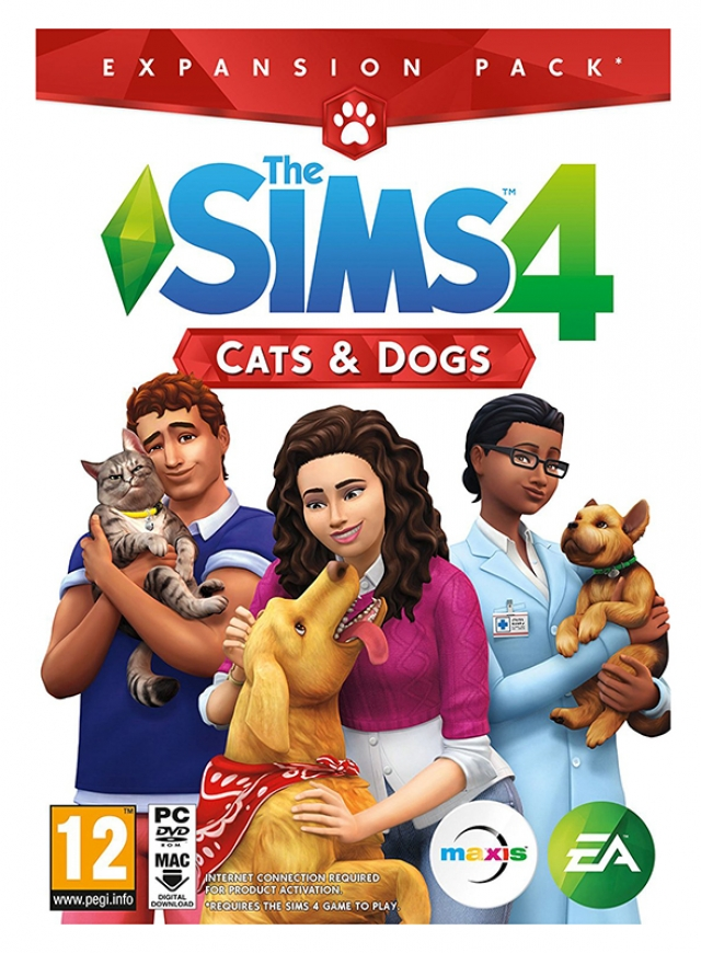 THE SIMS 4 Expansão CATS & DOGS PC