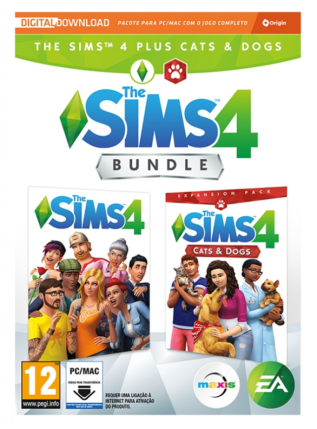 THE SIMS 4 + Expansão CATS & DOGS PC