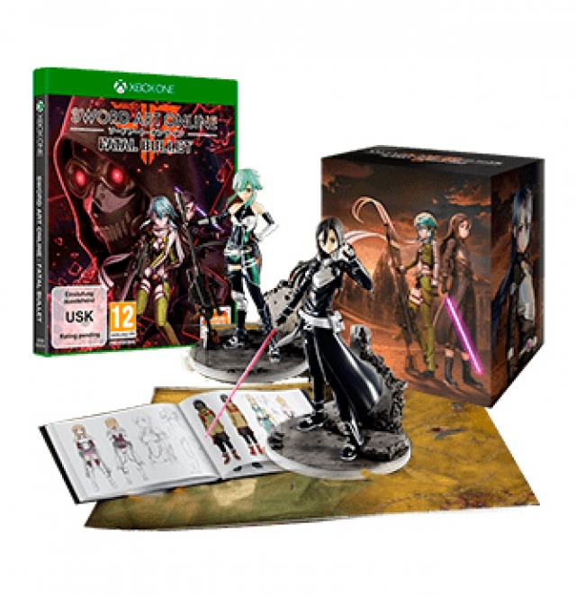 SWORD ART ONLINE FATAL BULLET Collectors Edition (Oferta DLC) PS4