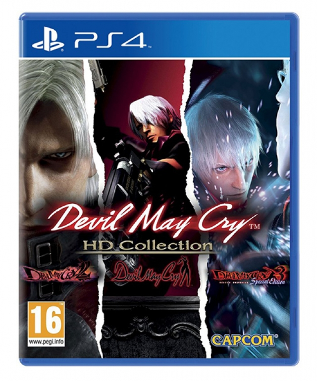 DEVIL MAY CRY HD Collection PS4