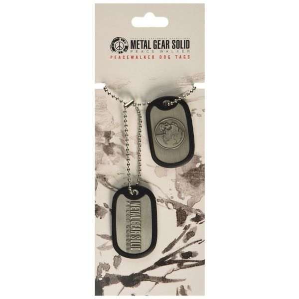 Dog Tag METAL GEAR SOLID Peacewalker