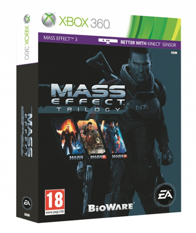 MASS EFFECT Trilogy XB360