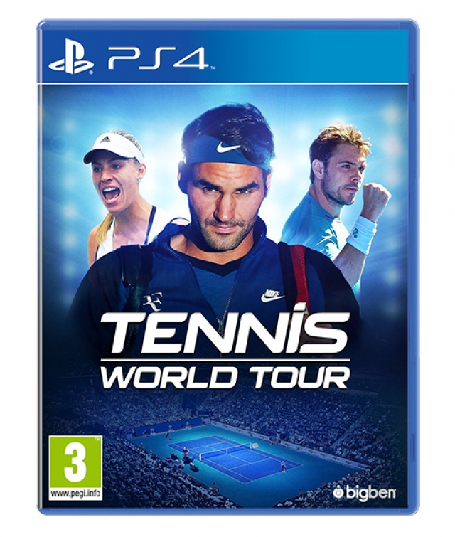 TENNIS WORLD TOUR PS4