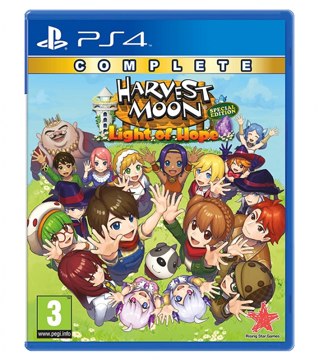 HARVEST MOON LIGHT OF HOPE Special Edition Complete PS4