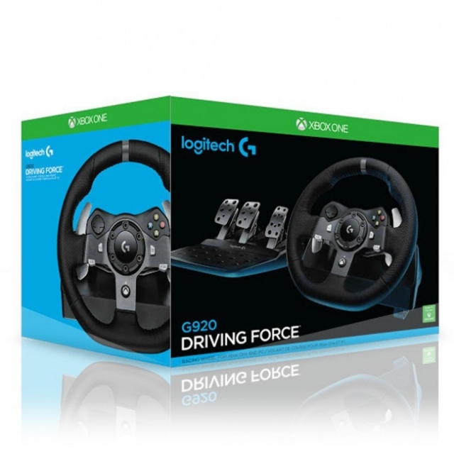 VOLANTE LOGITECH G920 DRIVING FORCE XBOX ONE