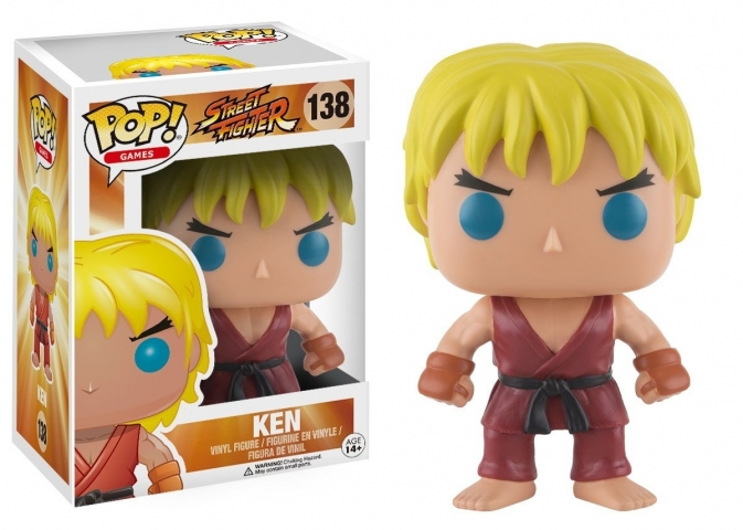 POP STREET FIGHTER #138 Ken