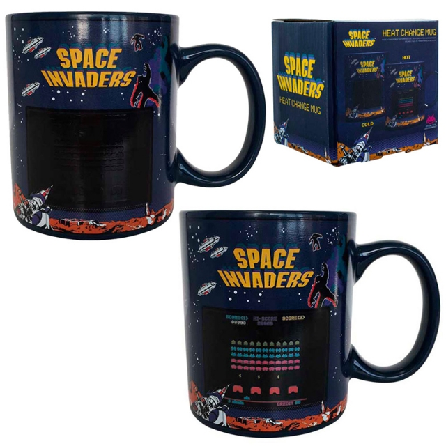 Caneca SPACE INVADERS (Muda com a Temperatura)