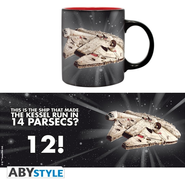Caneca STAR WARS 12 Parsecs (320ml)
