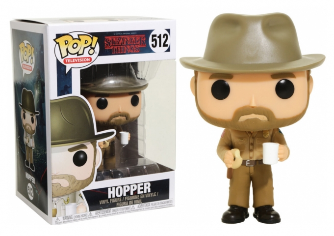 POP STRANGER THINGS #512 Hopper com Donut
