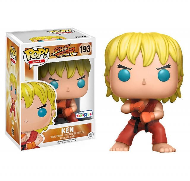 POP STREET FIGHTER #193 Special Attack Ken