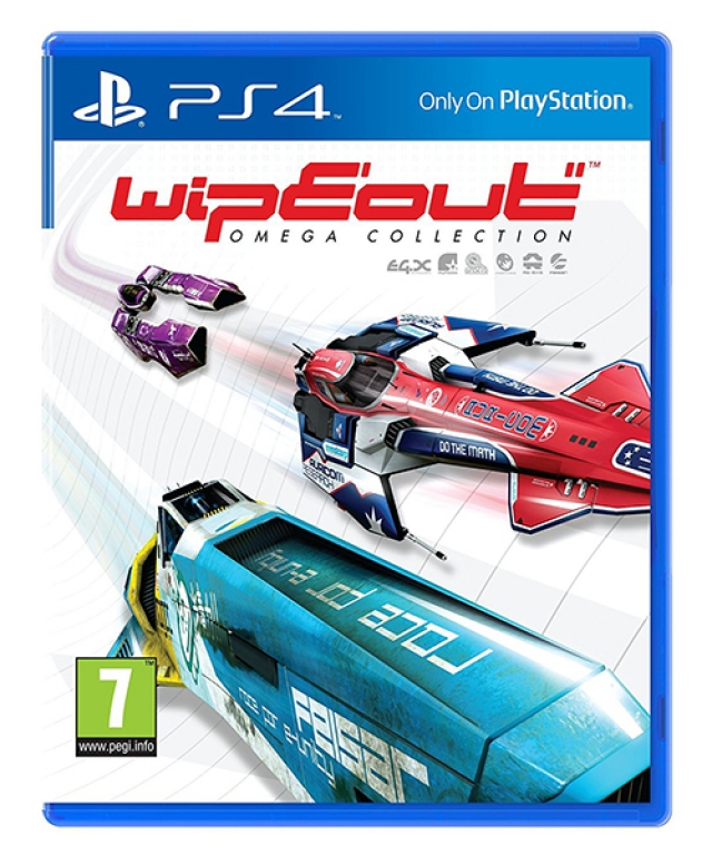 WIPEOUT OMEGA COLLECTION (EM PORTUGUÊS) PS4