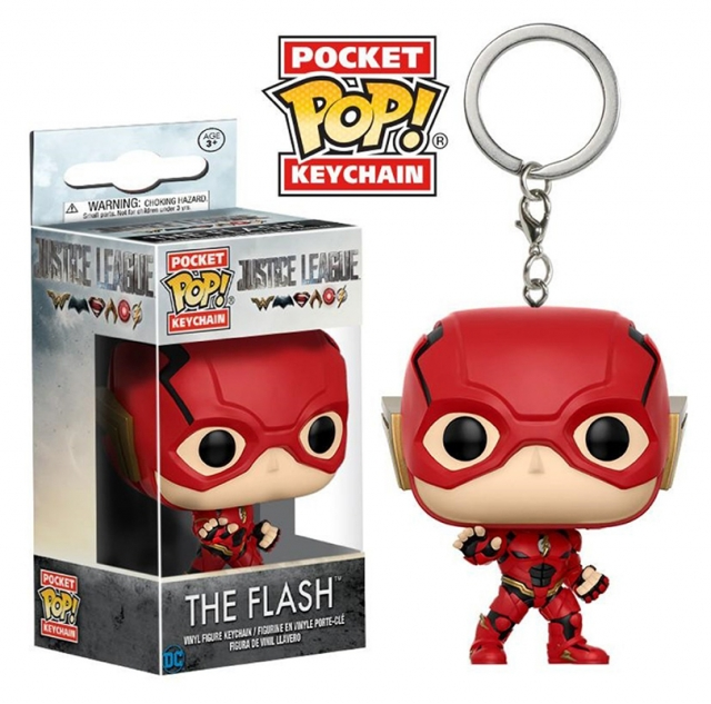 Porta-Chaves JUSTICE LEAGUE Pocket POP! The Flash