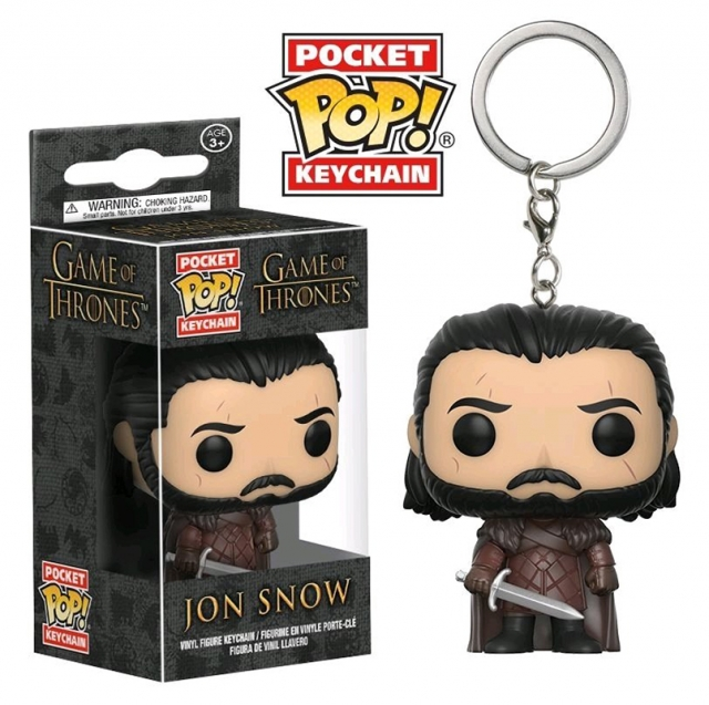 Porta-Chaves GAME OF THRONES Pocket POP! Jon Snow With Scars