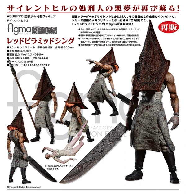 Figura SILENT HILL 2 Thing SP--055 Figma (20cm)