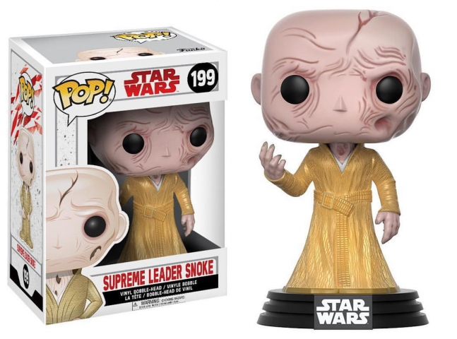 POP STAR WARS #199 Supreme Leader Snoke