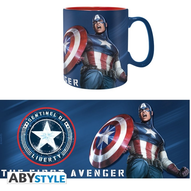 Caneca MARVEL Captain America Sentinel of Liberty (460ml)