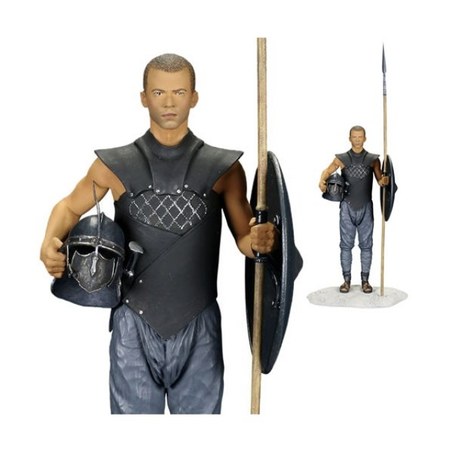 Estátua GAME OF THRONES Grey Worm - Dark Horse Deluxe (20cm)