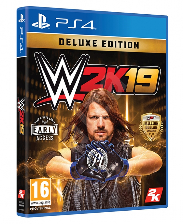 WWE 2K19 Deluxe Edition PS4