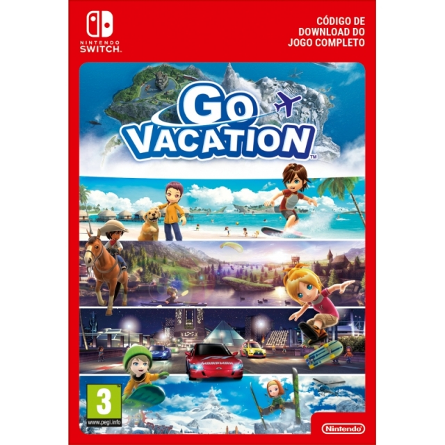 GO GO VACATION (Nintendo Digital) Switch