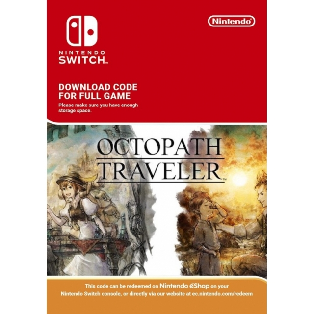 OCTOPATH TRAVELER (Nintendo Digital) Switch