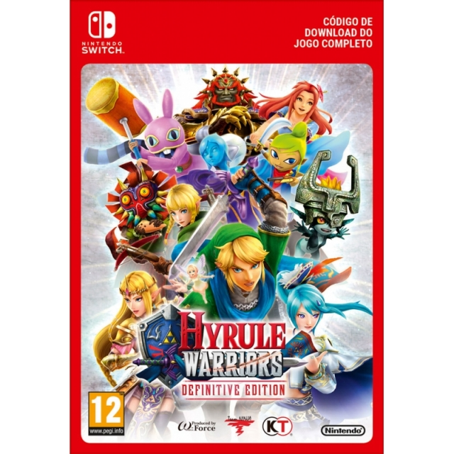 HYRULE WARRIORS Definitive Edition (Nintendo Digital) Switch