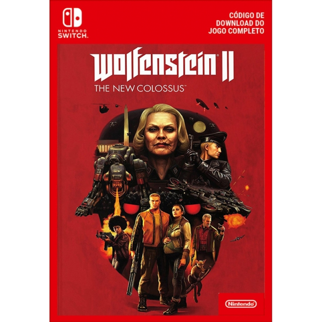 WOLFENSTEIN II THE NEW COLOSSUS (Nintendo Digital) Switch