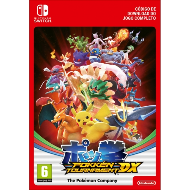 POKKÉN TOURNAMENT DX (Nintendo Digital) Switch