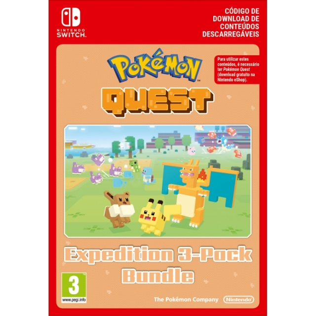 POKÉMON QUEST: Expedition 3-Pock Bundle (Nintendo Digital) Switch