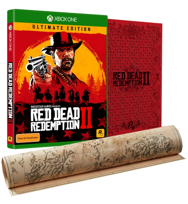 RED DEAD REDEMPTION 2 Ultimate Edition (EM PORTUGUÊS) XBOX ONE