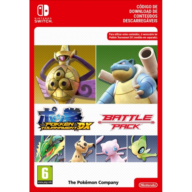 POKKÉN TOURNAMENT DX Battle Pack (Nintendo Digital) Switch