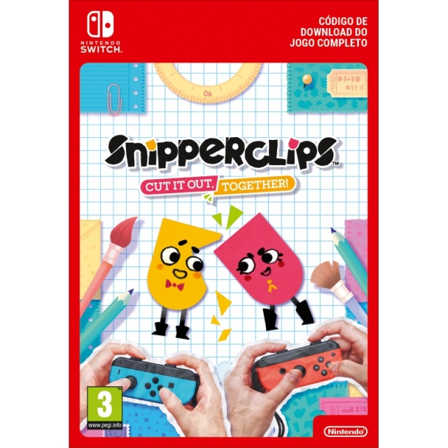 SNIPPERCLIPS: CUT IT OUT TOGETHER (Nintendo Digital) Switch