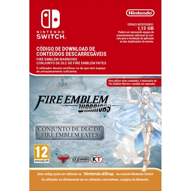 FIRE EMBLEM WARRIORS Fates Pack (Nintendo Digital) Switch