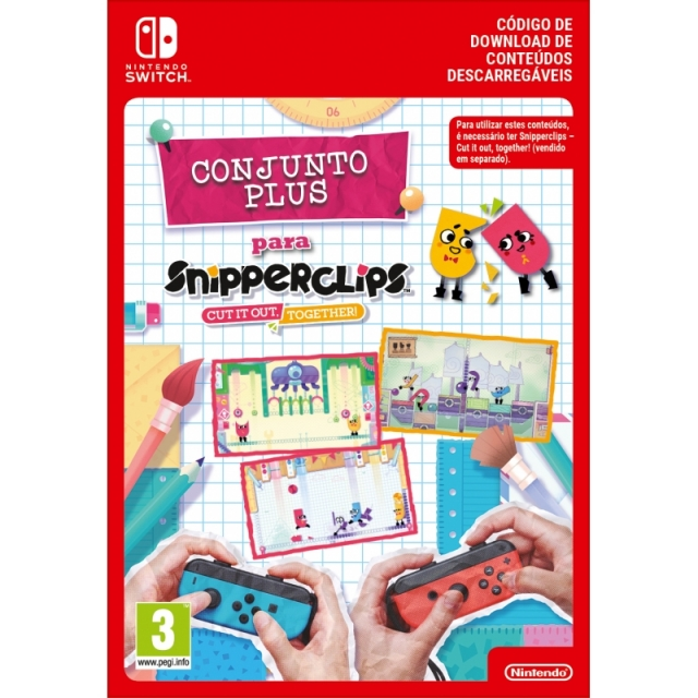 SNIPPERCLIPS: CUT IT OUT TOGETHER Conjunto Plus (Nintendo Digital) Switch